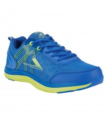Vostro Royal Blue Green Sports Shoes Audi for Men - VSS0109